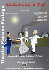 INVITATION SOIREE THEATRALE